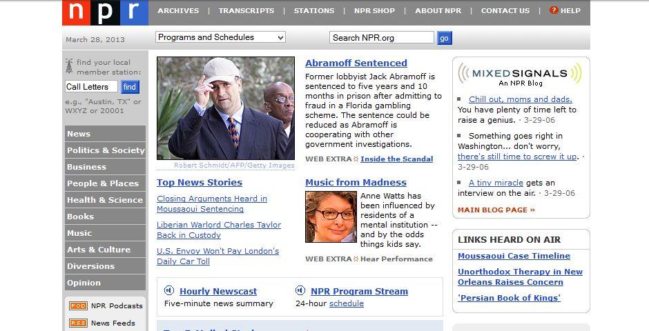 Webby Award Winner - NPR.org