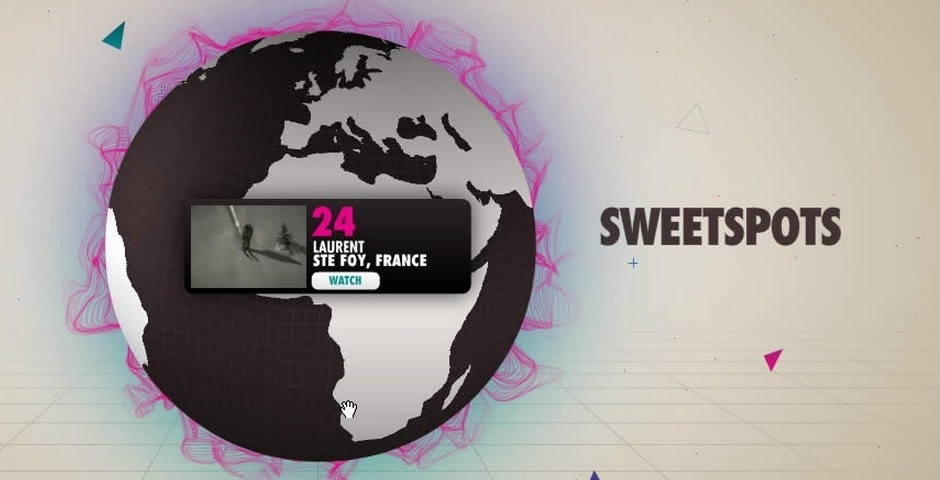 Webby Award Nominee - Sweet Spots