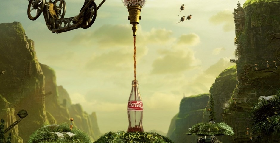 2008 Webby Winner - Coca Cola Happiness Factory II - the virtual premiere