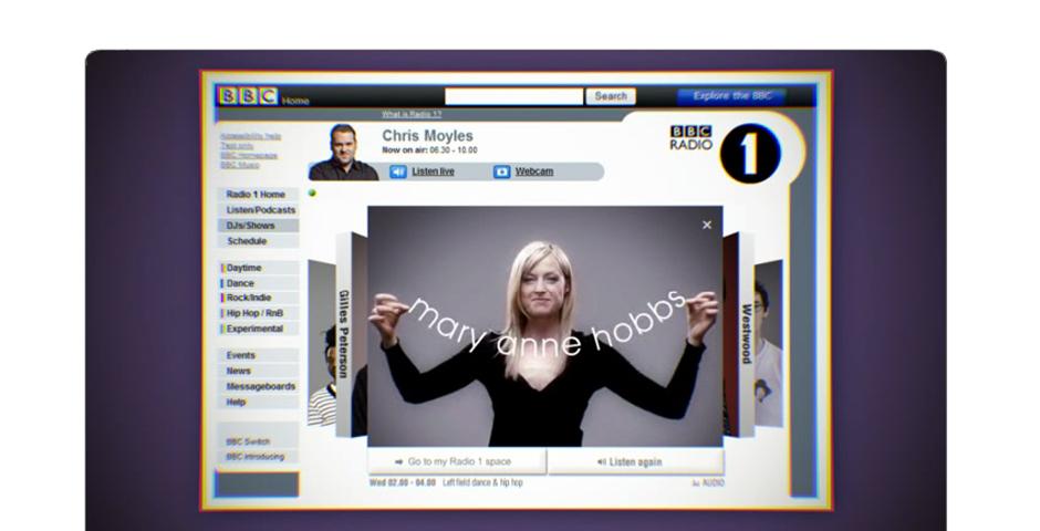 Webby Award Winner - BBC Radio 1 Meet the DJs