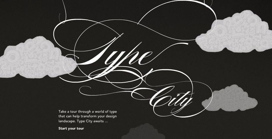 2008 Webby Winner - Veer - Type City