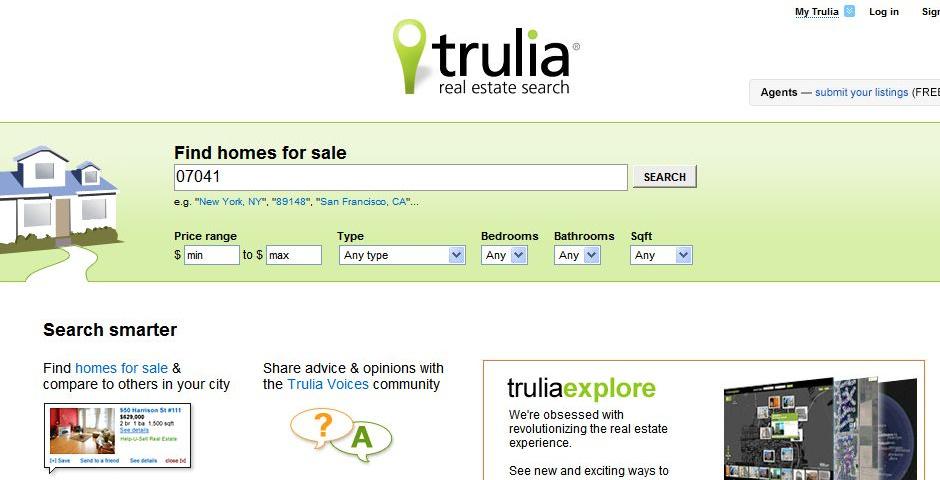 2008 Webby Winner - Trulia