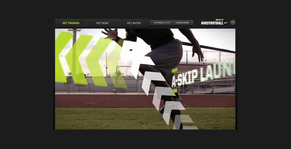 Webby Award Nominee - Nike SPARQ