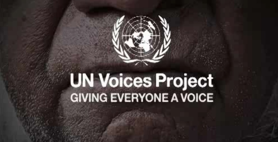 Webby Award Winner - United Nations Voices