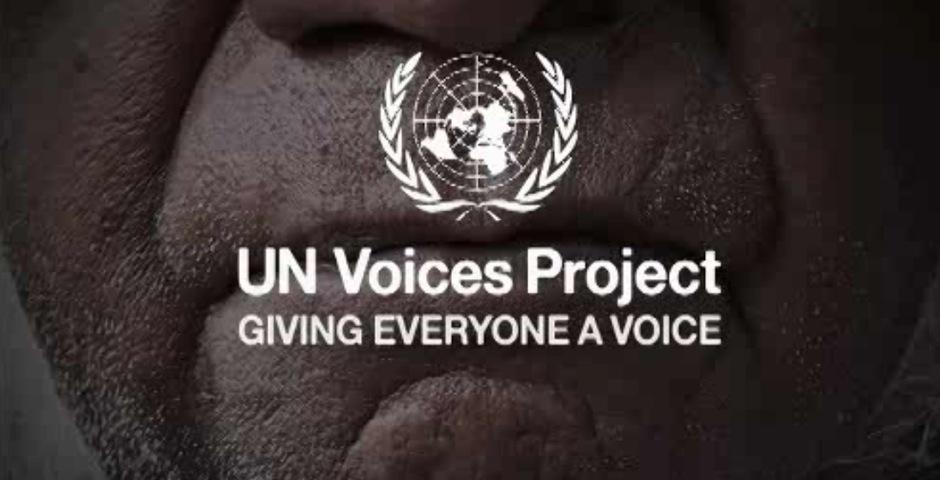 Webby Award Winner - United Nations Voices