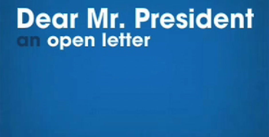 People's Voice - Pepsi Dear Mr. President Video Banner