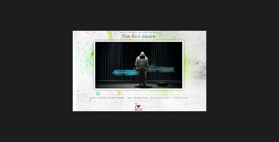 2009 Webby Winner - The eco dance