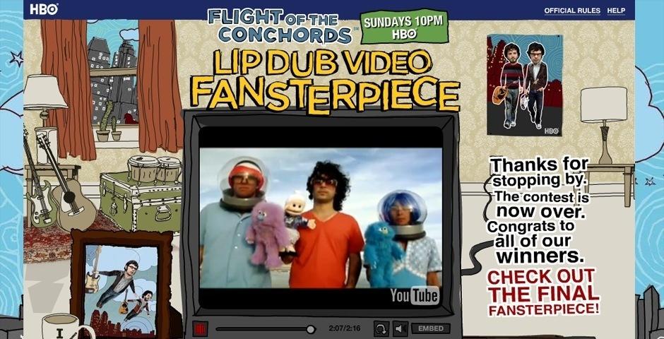 2009 Webby Winner - Flight of the Conchords Lip Dub