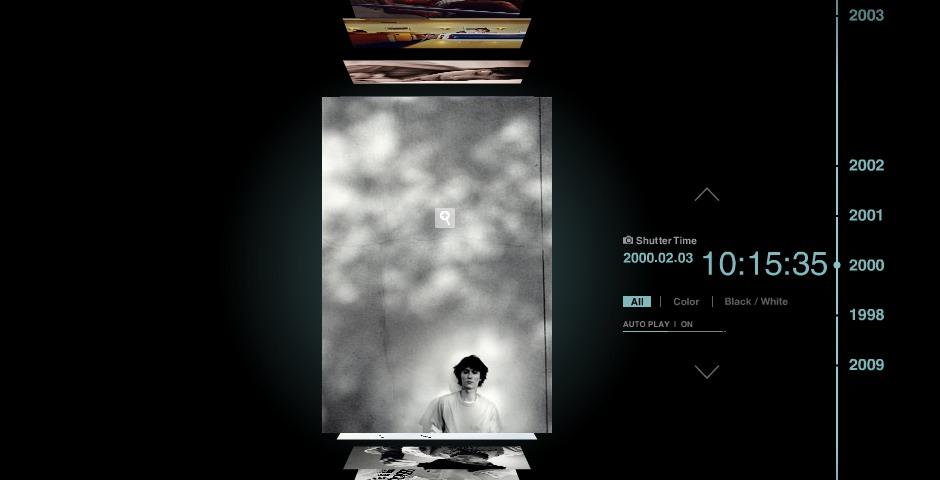Honoree - hiroshi seo / photographs TIME:LINE