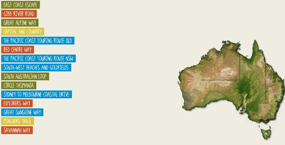 Nominee - Tourism Australia's Walkabout Planner
