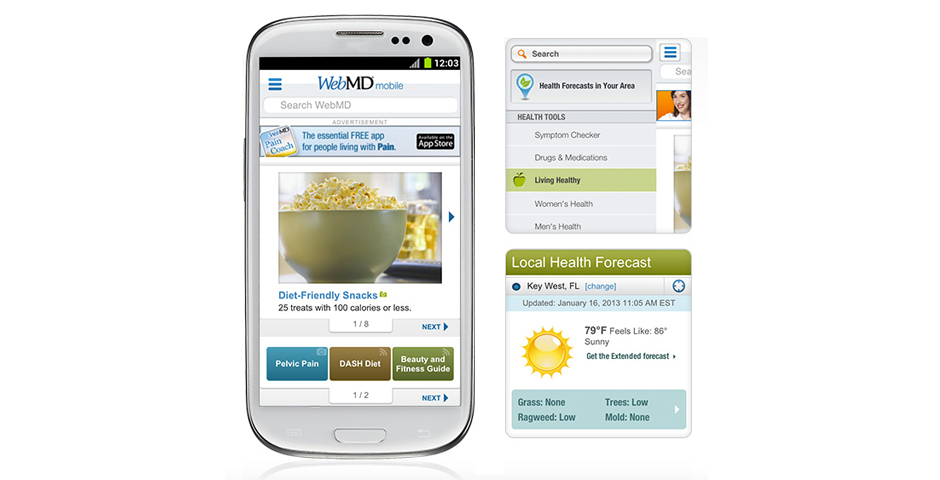 Nominee - WebMD Mobile