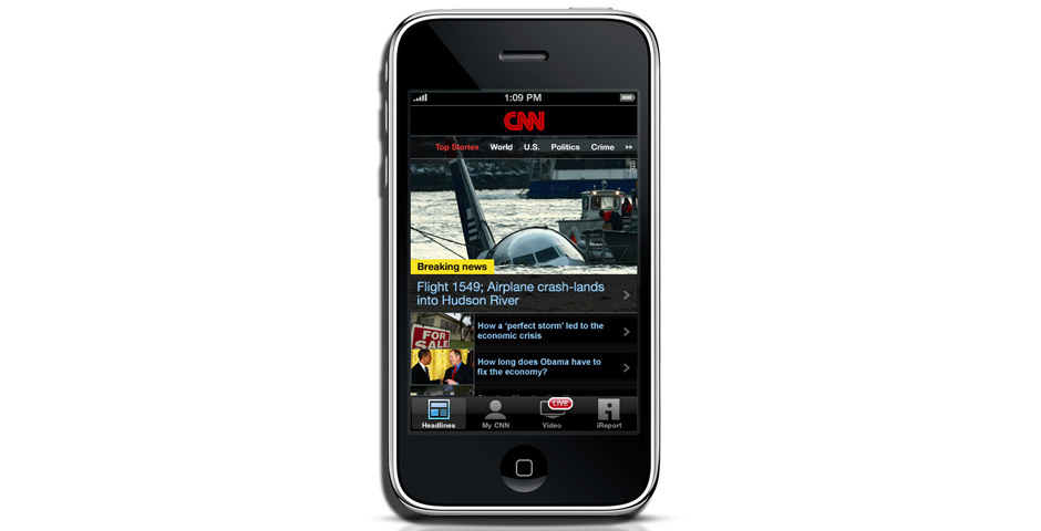 Webby Award Nominee - CNN Mobile