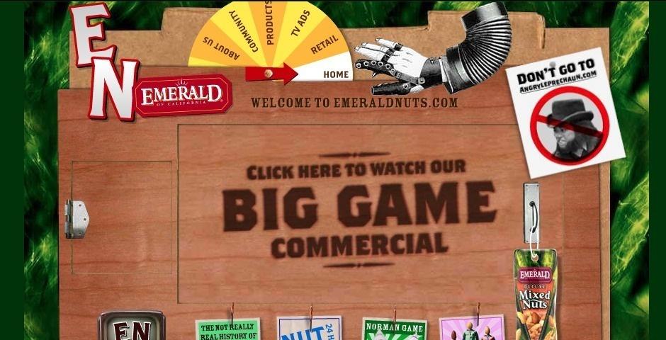Webby Award Nominee - Emerald Nuts