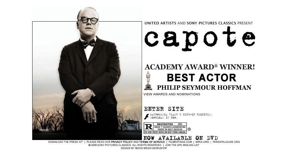 Webby Award Nominee - CAPOTE