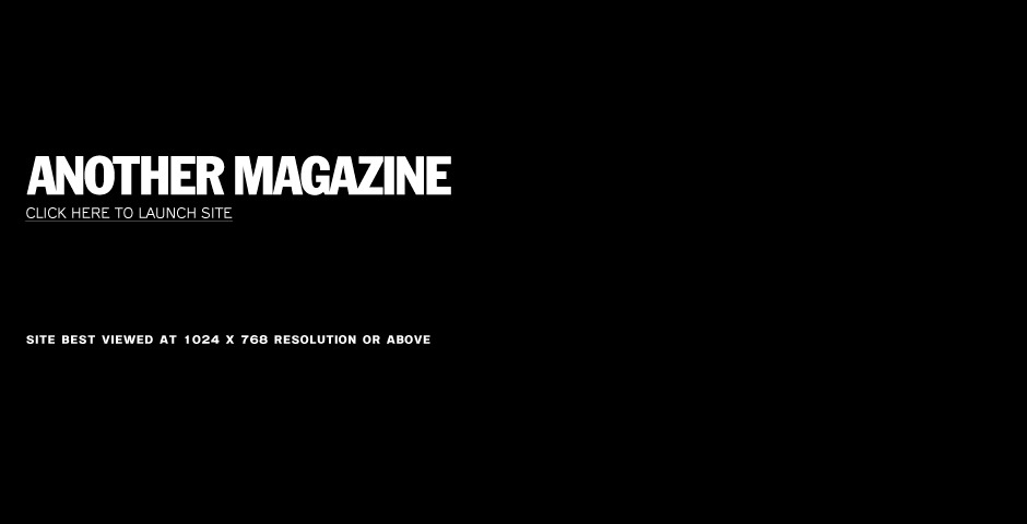 Nominee - Another Magazine