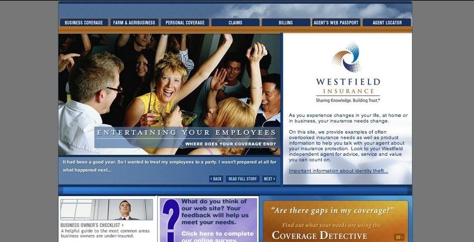 Webby Award Nominee - Westfield Insurance