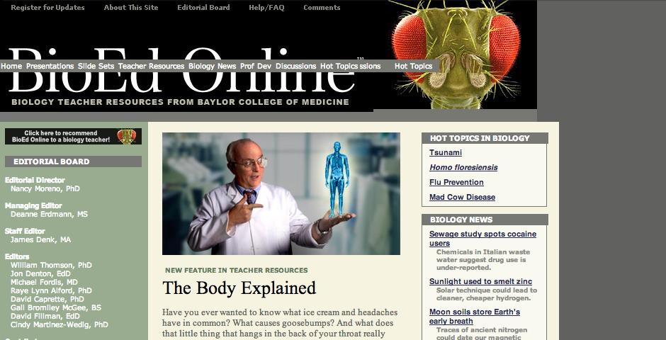 Nominee - BioEd Online