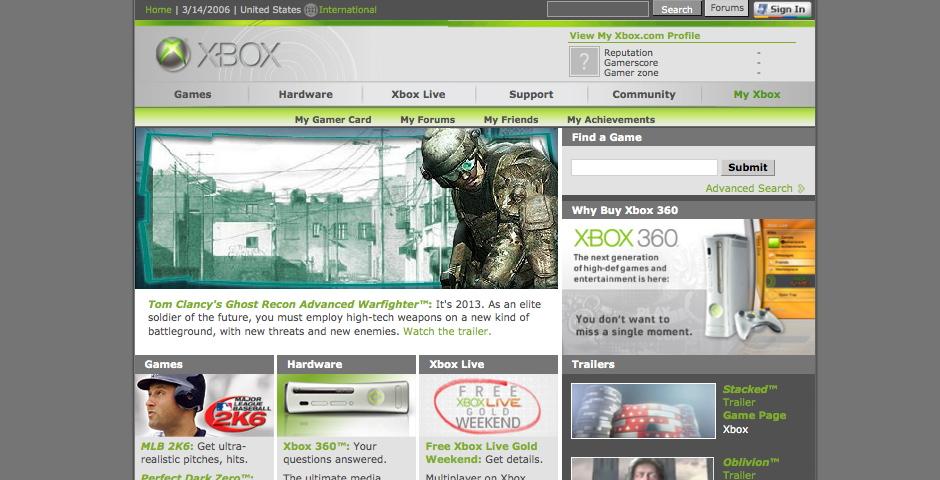 Nominee - Xbox.com