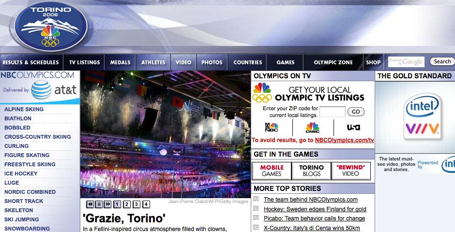 Nominee - NBC Olympics
