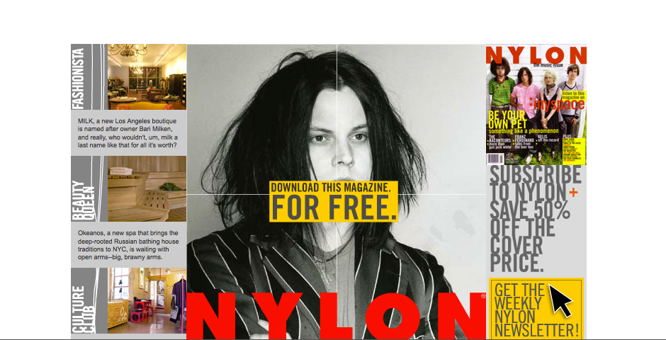 Nominee - nylon magazine