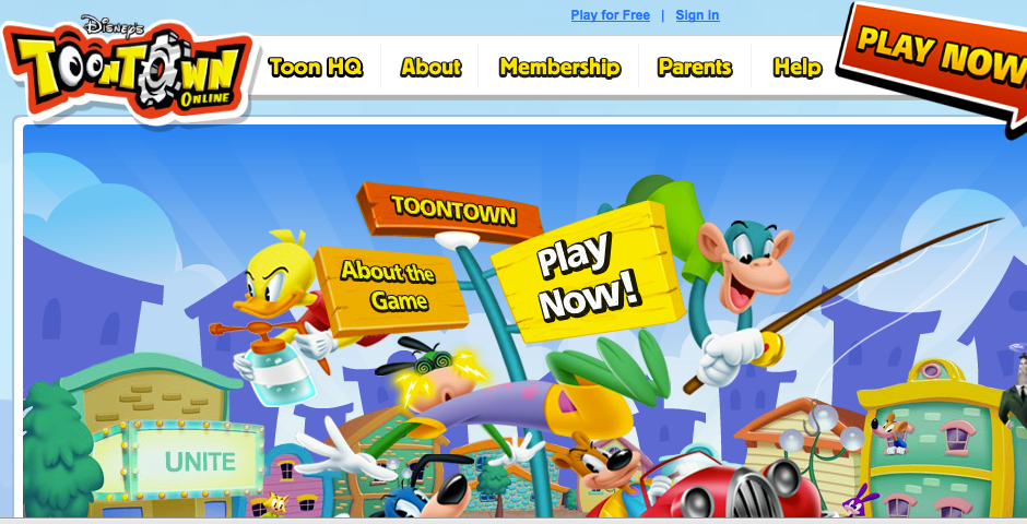 Nominee - Toontown Online