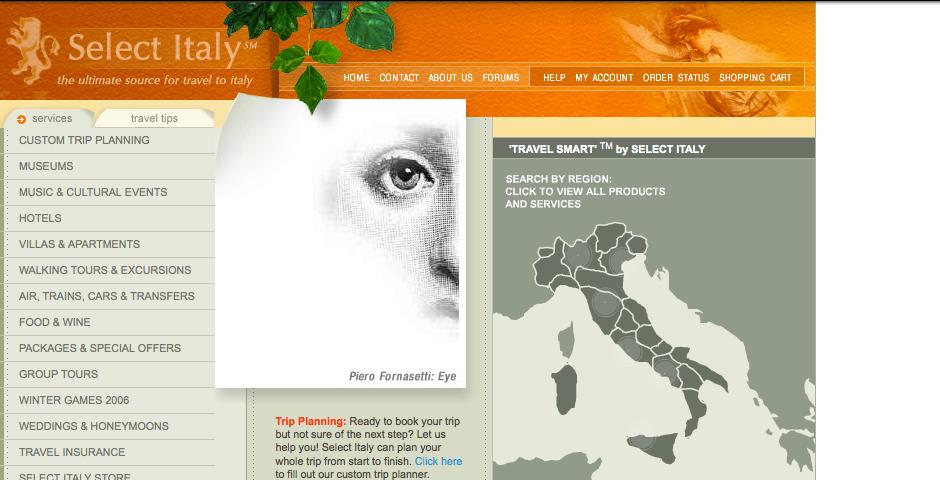 Webby Award Nominee - Select Italy